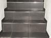 obložení schodů včetně kovových lišt