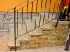 nalepení kamenných schodnic a obkladu na schody