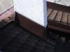 oplechování komína do šindele-Hliník eloxovaný hnědý