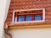 oplechování okna a výroba atipického kotlíku-Měď