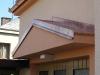 oplechování stříšky nad garáží-Měď