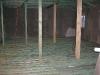 rošt s prken dřevěné podlahy