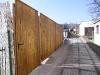 brána a branka ze dřeva